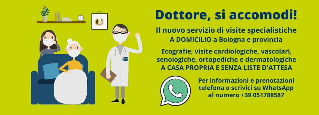 Visite a domicilio a Bologna e provincia - Centro Medico Galilei