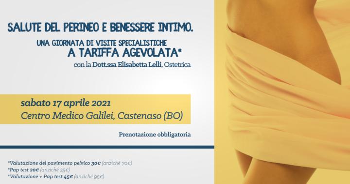 Salute del perineo e benessere intimo - 17 aprile 2021 @Centro Medico Galilei Castenaso - Dott.ssa Elisabetta Lelli